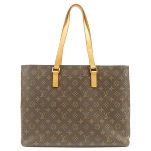 Authentic Louis Vuitton Luco monogram tote